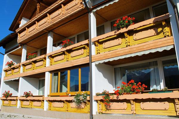 Balkone - Haus Löger Apartments - Windischgarsten