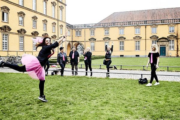 Junggesellinnen Abschied feiern in Osnabrück im Schlosspark