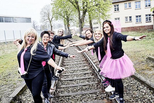 Junggesellinnen beim Fotoshooting in Osnabrück