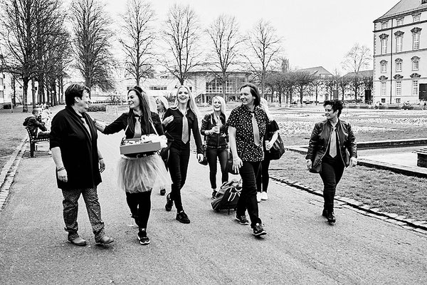 Fotoreportage in Osnabrück beim Junggesellinnen Fotoshooting