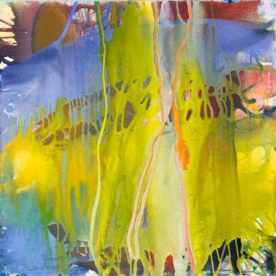 0C O.T. Erdfarben auf Leinwand, 2009 80 x 80 cm