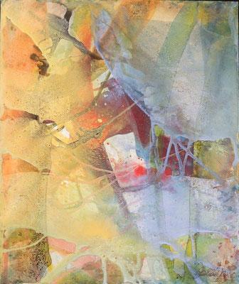 09 O.T. Erdfarben auf Leinwand, 2008 50 x 60 cm