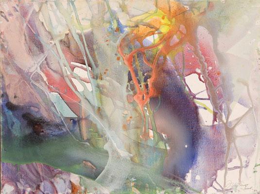 06 O.T. Erdfarben auf Leinwand, 2008 80 x 60 cm