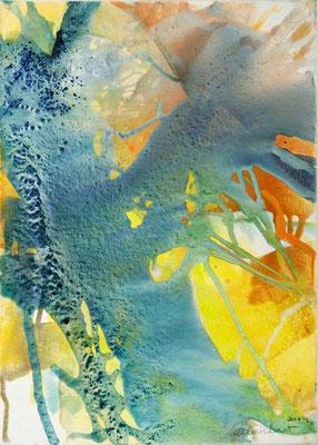 0F O.T. Erdfarben auf Leinwand, 2009 50 x 70 cm