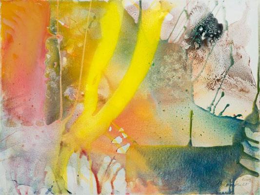 0N O.T. Erdfarben auf Leinwand, 2009 70 x 50 cm
