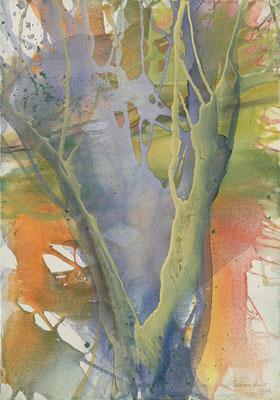 14 O.T. Erdfarben auf Leinwand, 2008 70 x 100 cm