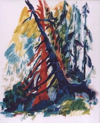 Liebende | Öl auf Leinwand |  1998 |  50x60cm
