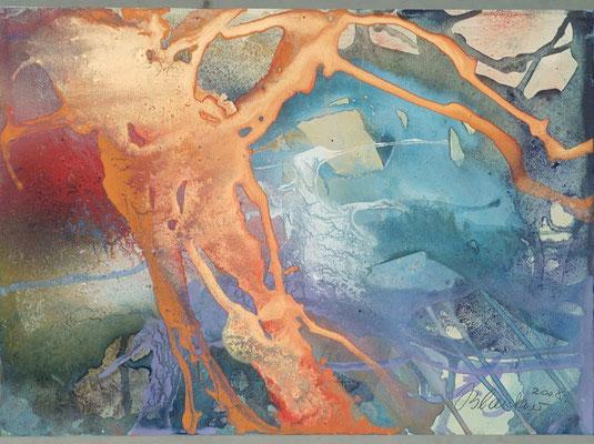 19 O.T. Erdfarben auf Leinwand, 2008 70 x 50 cm