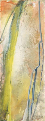 05 O.T. Erdfarben auf Leinwand, 2008 30 x 80 cm
