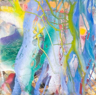 0T O.T. Erdfarben auf Leinwand, 2009 80 x 80 cm