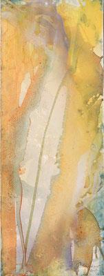 04 O.T. Erdfarben auf Leinwand, 2008 30 x 80 cm
