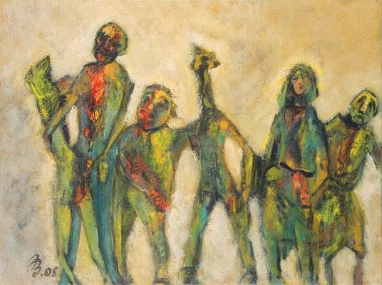 Gruppe 6 | Acryl auf Leinwand | 2005| 80x60cm