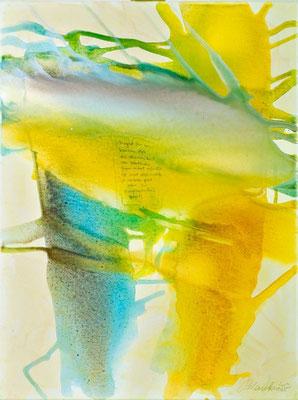 0P Zärtliche Gegenwart, Erdfarben auf Leinwand, 2009 60 x 80 cm