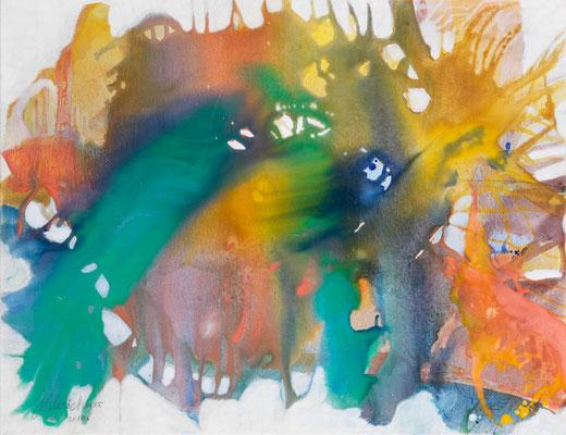 29 O.T. Erdfarben auf Leinwand, 2010 90 x 70 cm