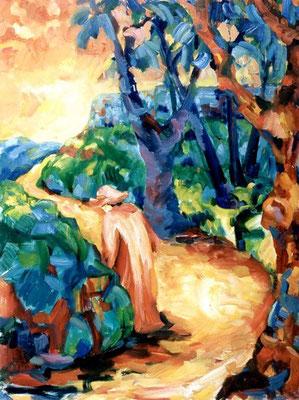 Der Wanderer | Öl auf Leinwand | 2000 | 70x90cm