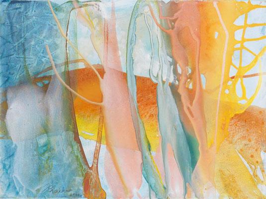 28 O.T. Erdfarben auf Leinwand, 2010 80 x 60 cm
