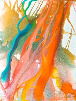 0A O.T. Erdfarben auf Leinwand, 2009 60 x 80 cm