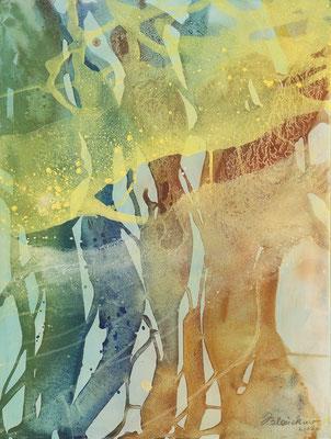 16 O.T. Erdfarben auf Leinwand, 2008 60 x 80 cm