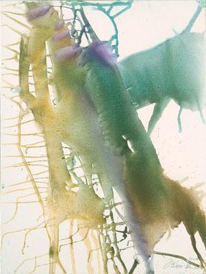 01 O.T. Erdfarben auf Leinwand, 2008 60 x 80 cm