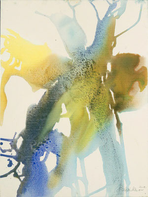 02 O.T. Erdfarben auf Leinwand, 2008 60 x 80 cm