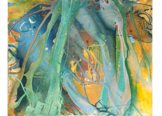 25 O.T. Erdfarben auf Leinwand, 2010 100 x 80 cm