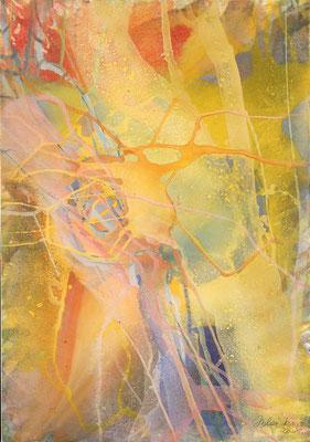 15 O.T. Erdfarben auf Leinwand, 2008 60 x 80 cm