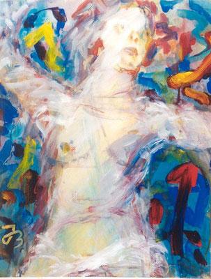 Befreit | Acryl auf Papier | 1999 | 40x50cm