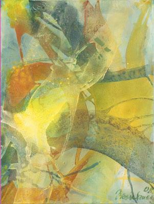 18 O.T. Erdfarben auf Leinwand, 2008 60 x 80 cm