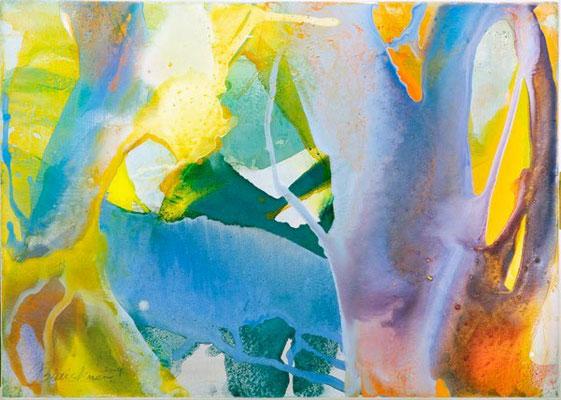 0H O.T. Erdfarben auf Leinwand, 2009 70 x 50 cm