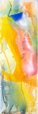 0M O.T. Erdfarben auf Leinwand, 2009 40 x 120 cm