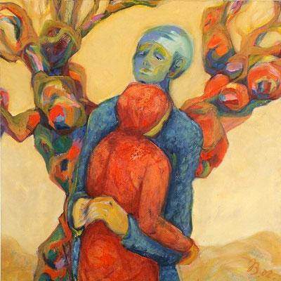 Liebe | Öl auf Leinwand | 2002 | 70x70cm