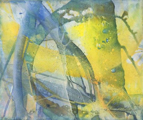 12 O.T. Erdfarben auf Leinwand, 2008 60 x 50 cm