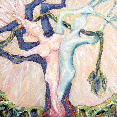 Seligkeit | Öl auf Leinwand | 2002 | 70x70cm