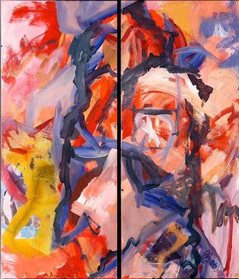 Vision  | Acryl auf Leinwand | 2006 | je 50x120cm