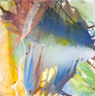 0S Erdfarben auf Leinwand, 2009 80 x 80 cm