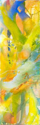 0L O.T. Erdfarben auf Leinwand, 2009 40 x 120 cm
