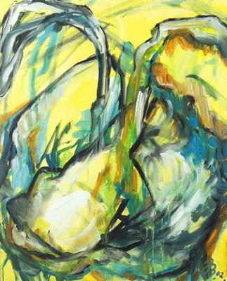 Keim | Öl auf Leinwand | 2002 | 80x100cm