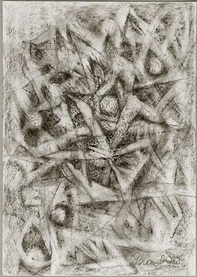 Gestirne | Pastellkreide/Papier | 2004 | 30x42cm