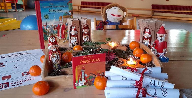 Anschauliche Materialien zum Nikolaus © Nicole Tekaath