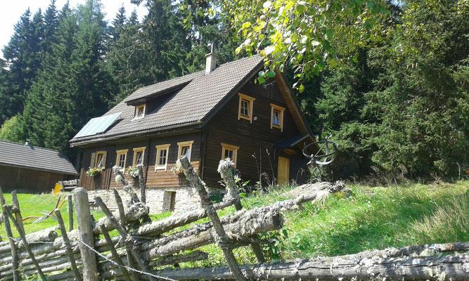 Idyllische Großhinterbergerhütte