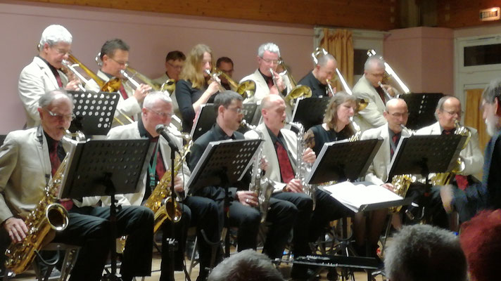 Le big band Cellois rejoint par l'atelier jazz