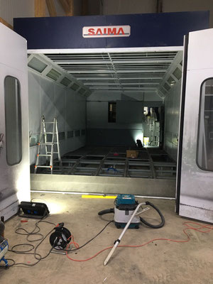 Auf- und Abbau einer Kabine innert 2 Wochen!