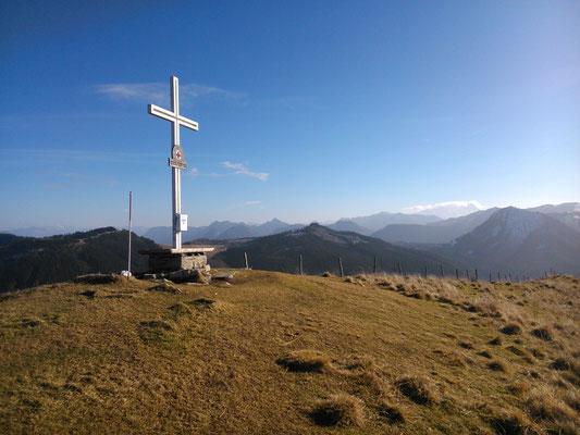 Loibersbacher Höhe 1.456m (19.12.2015)
