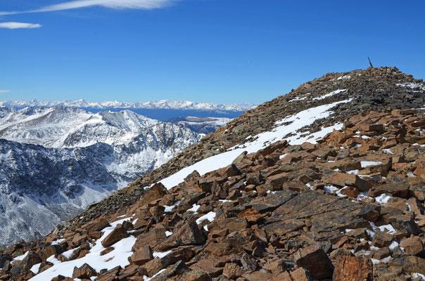 Quandary Peak 4.348m, 29.09.2013