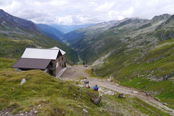 Birnlückenhütte 2.441m, 04.08.2014