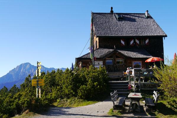 Peter Wiechenthaler Hütte 1.707m, 18.10.2014