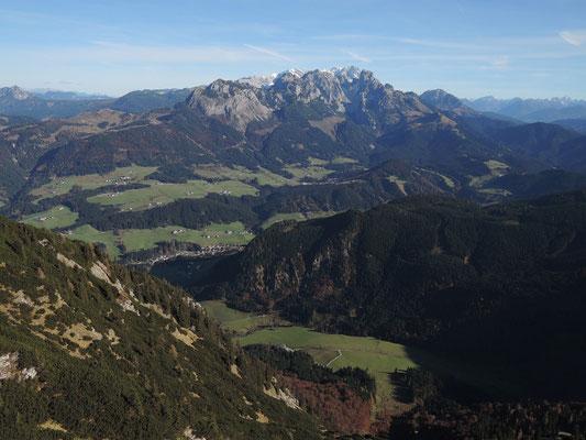 Blick vom Schober 1.810m (01.11.2016)