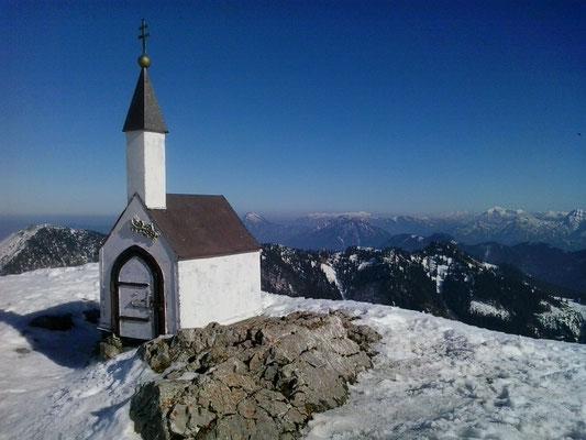 Hochgern 1.748m,  09.03.2014
