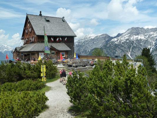 Peter-Wiechenthaler-Hütte 1.707m, 08.06.2013
