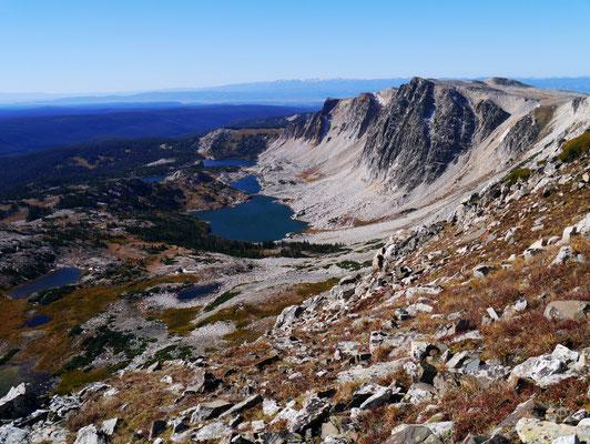 Medicine Bow Peak 3.639m, 25.09.2013